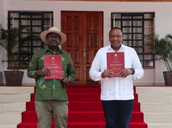 Uhuru na Raila wawaomba wabunge kupitisha mswada wa BBI