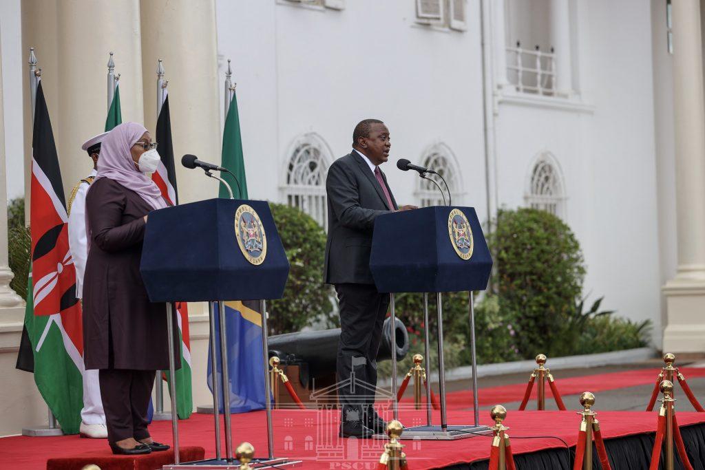 Marais Uhuru na Suluhu wawapa wawekezaji uhuru na suluhu